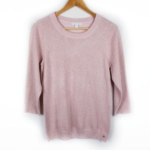 {New York & Company} Blush Pink sweater